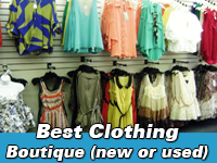 Best clothing boutique new or used