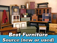 Best furniture source new or used